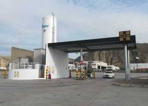 HAM inaugurates CNG/LNG gas station in Alfajarín, Zaragoza, a key point for the route between Madrid and France