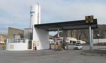 HAM inaugura Gasinera GNC/GNL en Alfajarín, Zaragoza, punto clave para la ruta realizada entre Madrid y Francia