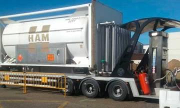 Gas natural licuado en Benavente, Zaragoza, gracias a Grupo HAM y su nueva estación de servicio móvil