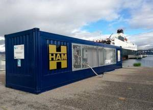 HAM inaugurates mobile unit in the Port of Vigo with the Core Innovation Project LNGas