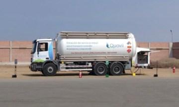 HAM diseña y pone en marcha una unidad móvil de gas natural licuado para Quavii en Perú