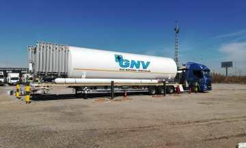 HAM instala una unidad móvil GNL en Riba-roja de Túria, Valencia