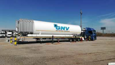 HAM Group has opened a liquefied natural gas (LNG) mobile unit in Ribaj-roja de Túria, Valencia