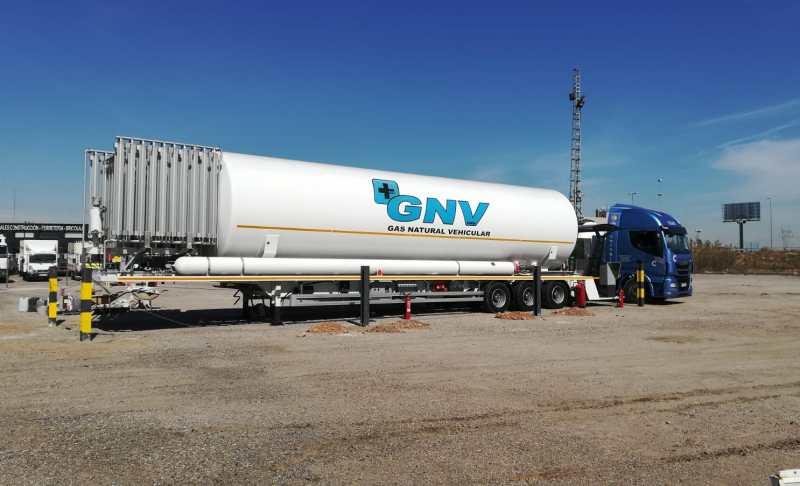 Grupo HAM ha abierto en Riba-roja de Túria, Valencia, una unidad móvil de gas natural licuado (GNL)