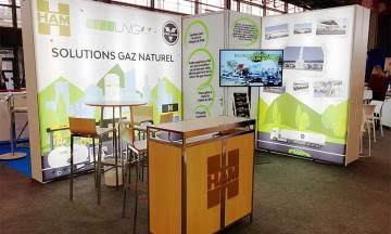Grupo HAM, LNG France y Vakuum estuvieron presentes, con un stand, en SiTL 2019