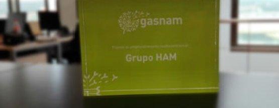 Grupo HAM ha sido premiado con el Premio Emprendimiento Medioambiental en el VII Congreso Gasnam por ser pioneros en el uso del gas en movilidad terrestre