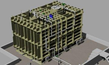 HAM instala el sistema de gestión de combustible en el primer tanque GNL de membrana pequeña