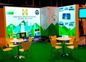 Grupo HAM está presente, con un stand, en AltFuels Iberia 2019, el evento que trata sobre las energías sostenibles en el transporte terrestre y marítimo