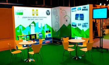 Grupo HAM participa con un stand en AltFuels Iberia 2019, evento en IFEMA que trata sobre las energías sostenibles para el transporte terrestre y marítimo.
