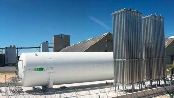 PSR diseñada, construida y aprovisionada por LNG France, filial francesa de Grupo HAM
