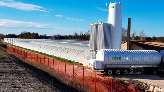 Planta de regasificación diseñada, construida y aprovisionada por LNG France