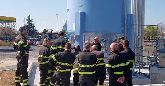 Grupo HAM imparte formación a todos sus empleados y clientes en relación al gas natural licuado y el gas natural comprimido