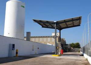 HAM Group and Delgo open a liquefied natural gas service station in Massalfassar, Valencia
