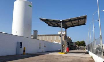 Grupo HAM y Delgo abren una estación de servicio de gas natural licuado en Massalfassar, Valencia