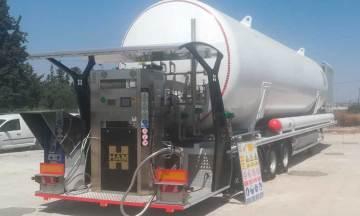 Grupo HAM instala gasinera móvil GNL en Murcia