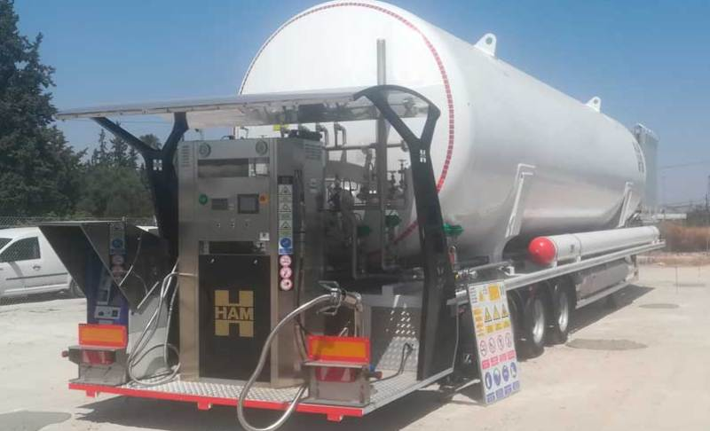 HAM Group opens its first LNG station in Murcia