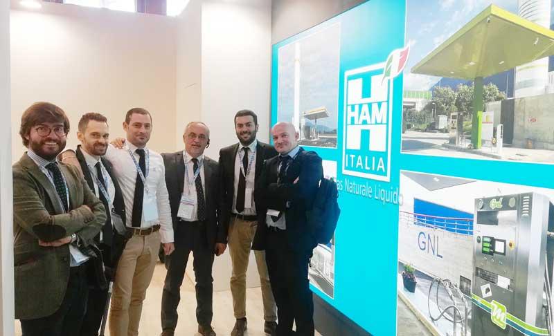 HAM Italia presente en la Feria Oil&NonOil celebrada el 24 y 25 de octubre en Roma
