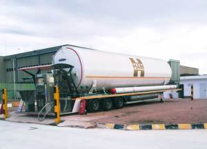 The Riba-roja de Túria HAM service station allows users to refuel CNG (Compressed Natural Gas) and LNG (Liquefied Natural Gas)