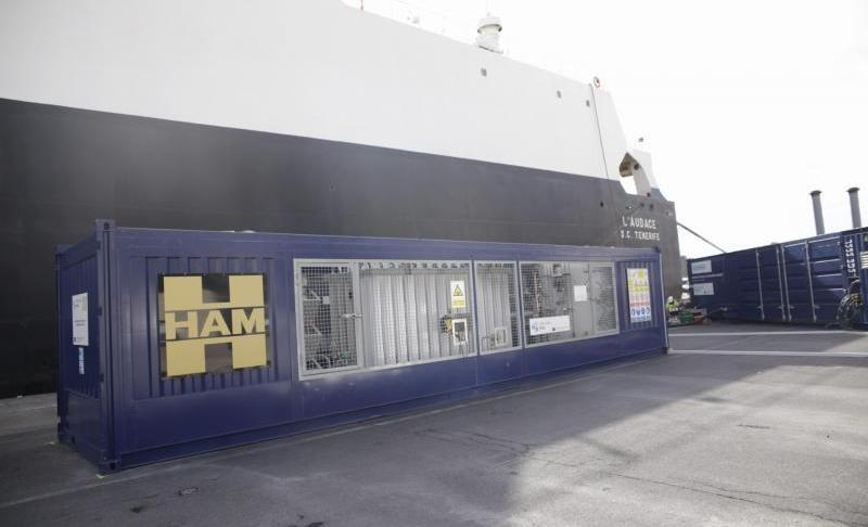 HAM diseña y construye unidad móvil GNL para el puerto de Tenerife dentro del Proyecto CORE LNGas Hive
