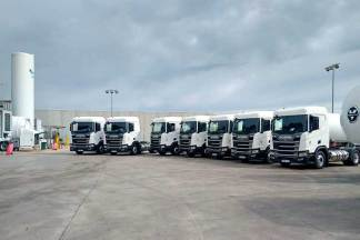 HAM Group incorporates in its HAM Transport fleet 7 new LNG tractors