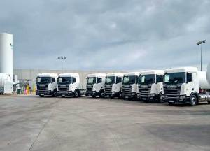 HAM Group incorporates in its HAM Transport fleet 7 new LNG tractors