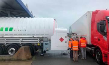 Grupo HAM instala móvil GNC-GNL en Marck, Calais, Francia
