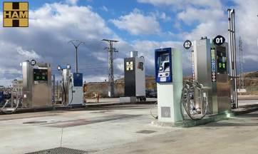 Grupo HAM abre nueva gasinera GNC-GNL en Rubena, Burgos