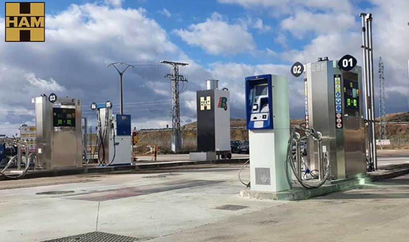 HAM Group opens a new CNG-LNG service station in Rubena, Burgos
