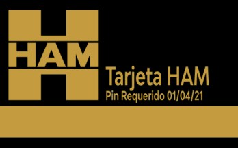 The HAM Group Cards, for freelancers and professionals, will require the use of a PIN code from April 1