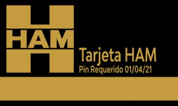 To improve the security of the HAM Cards, a PIN code will be necessary as of April 1, 2021