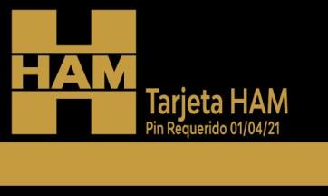 Para mejorar la seguridad de las Tarjetas HAM, será necesario un código PIN a partir del próximo 1 de abril de 2021