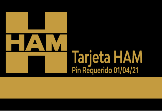 Las Tarjetas HAM GRUP pedirán un número PIN a partir del próximo 1 de abril