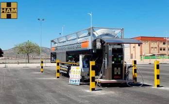 Grupo HAM ha abierto una nueva gasinera GNL en Albacete, Caudete