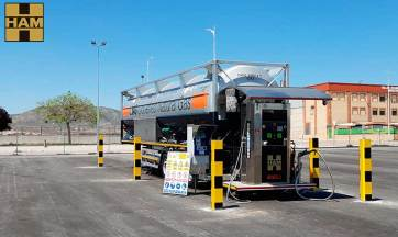 HAM Group has opened a new LNG gas station in Albacete, Caudete