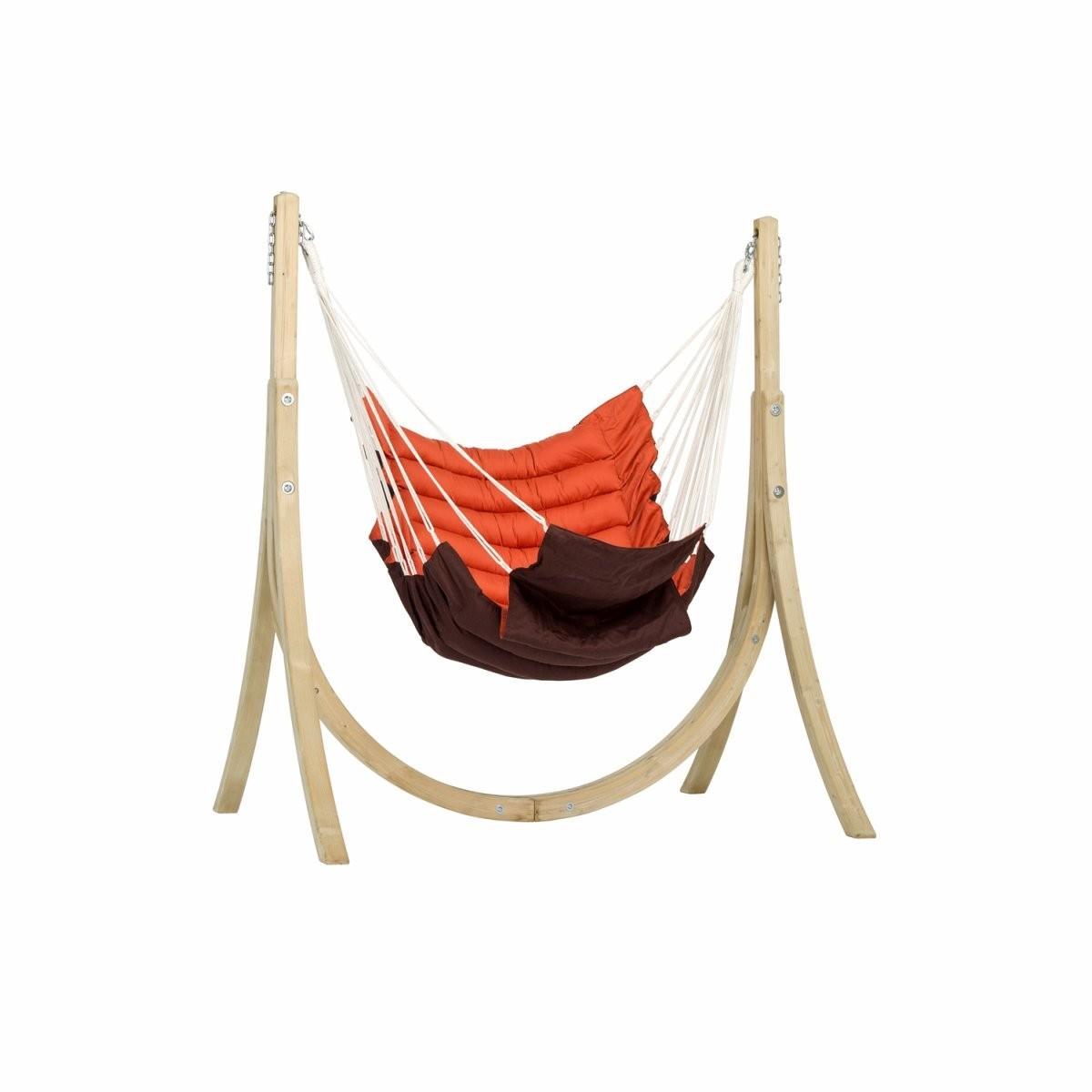 amazonas set support taurus hamac chaise terracotta