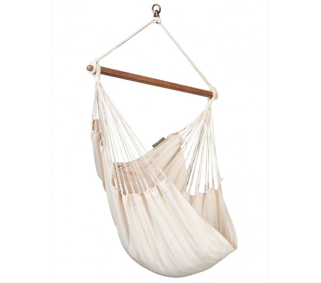 la siesta hammock chair hanging debenhams chaise hamac basic bio colombienne modesta Écru