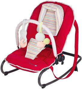 hamaca de bebe barata Safety 1st Moony Bouncer rojo
