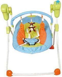 Hamaca columpio bebé - Columpio plegable para bebés, multicolor