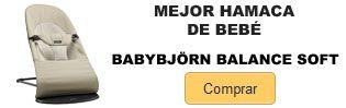 Comprar Mejor hamaca bebe Babybjorn balance soft