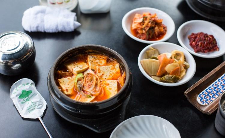 еда корейская