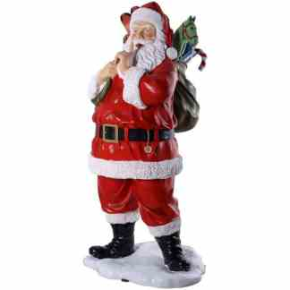 Santa with Toys 6ft statue