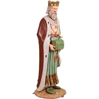 The Nativity - King Gaspar statue
