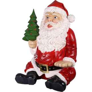 Uploaded ToGiant Sitting Santa Claus statue