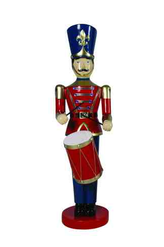 Toy Soldier with Drum (Red/Blue)