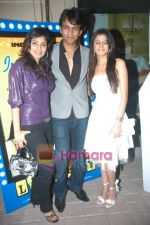 Abhijeet Sawant, Rucha Gujarati, Manisha Kelkar at Lottery Music launch in Powai, Planet M on 16th Jan 2009 (3).JPG