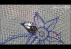 Tel Kırma Balık Sırtı Çiçek Yapımı