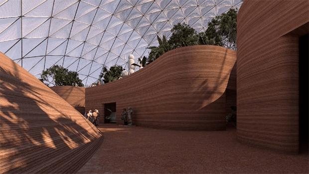 مریخ پر رہائش کیسی ہوگی؟ دبئی کے ریگستان میں مریخ شہر پر کام شروع 1
