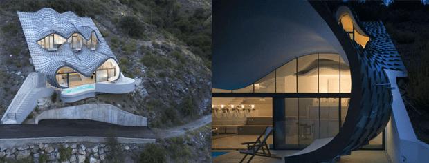 دنیا کے چند ایسے عجیب و غریب گھر جن کے ڈیزائن اور خصوصیات آپ کو حیران کردیں گے 3