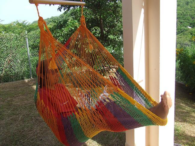 hamac chaise suspendu filet mexicain