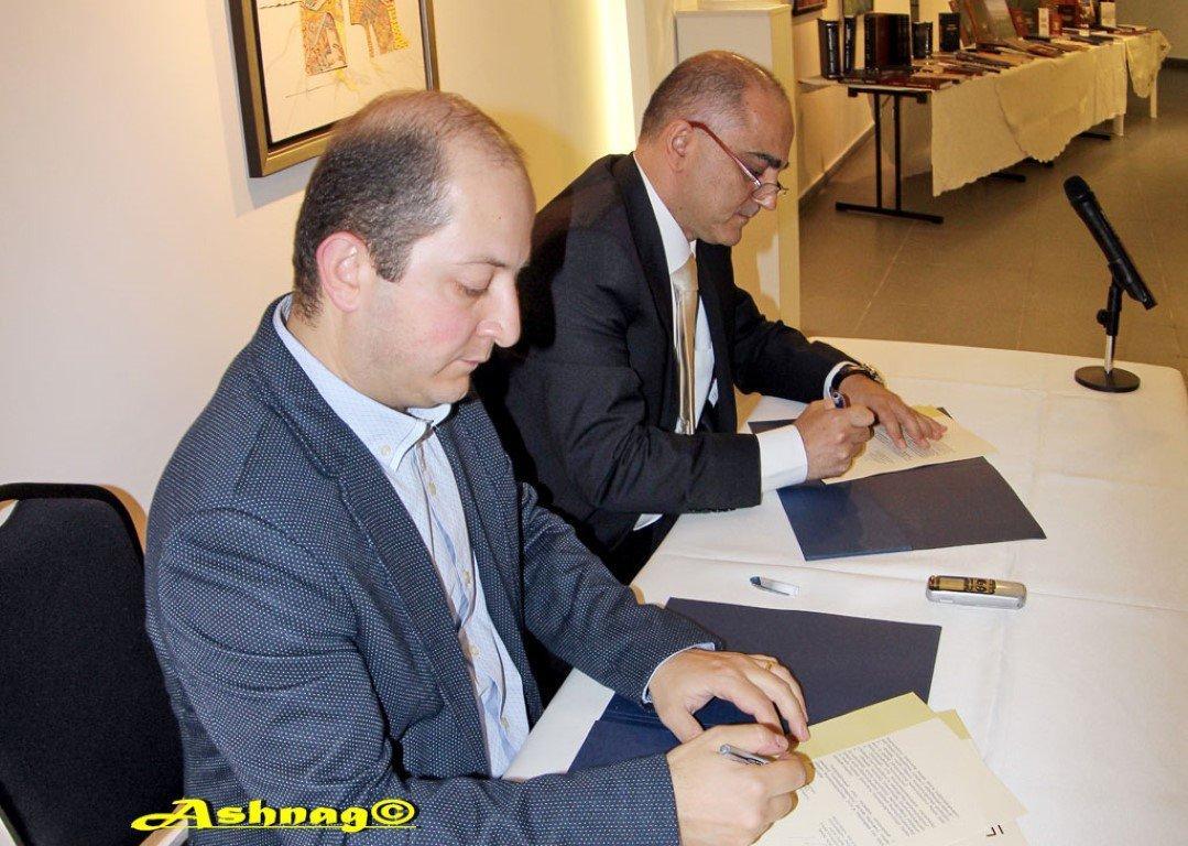 Memorandum of Cooperation with Yerevan State University (Lebanon)